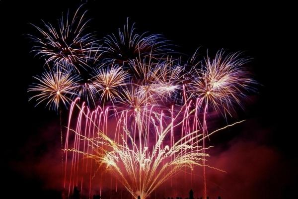 Feu d'artifice, spectacle de pyrotechnie